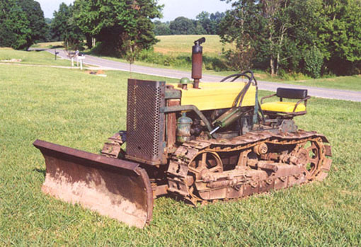 The Model 40 - John Deere Dubuque Crawlers - MC, 40, 420